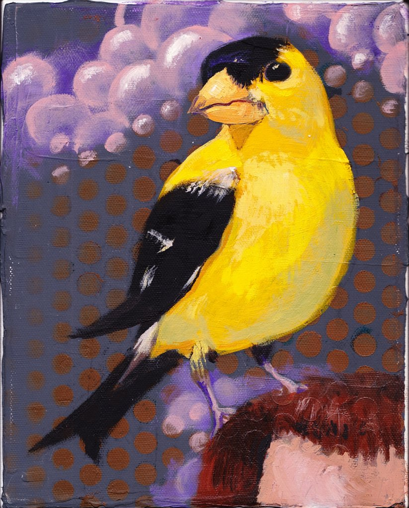 Goldfinch, 2018